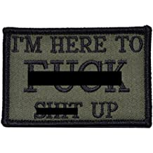 I'm Here to F S Up - 3x2 Morale Patch