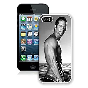 iPhone 5S Paul Walker White Screen Phone Case Lovely and Popular Design