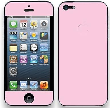 Solid Lite rosa Skin adhesivo de vinilo para iPhone 5 fabricado en ...