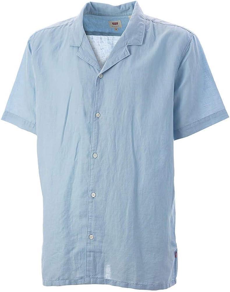 Camisas Levis Cubano Shirt Skyway Azul Large: Amazon.es: Ropa y accesorios