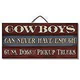 Highland Graphics Funny Western Decor Wood Sign