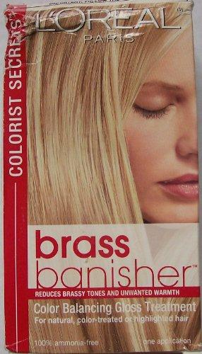 L'Oreal Paris Colorist Secrets Brass Banisher Hair Treatment by L'Oreal Paris