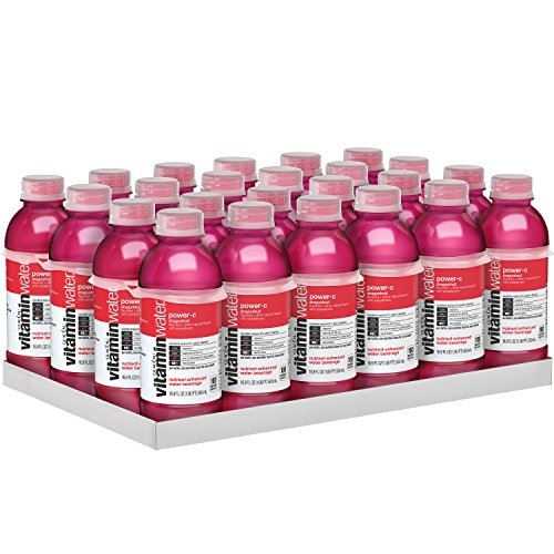 vitaminwater power-c electrolyte enhanced water w/ vitamins, dragonfruit drinks, 16.9 fl oz, 24 Pack