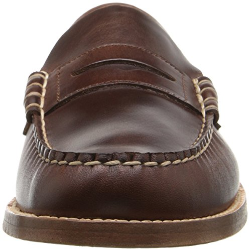 Sebago Legacy Dark Leather Loafer Men's Brown Penny zqrwz0O