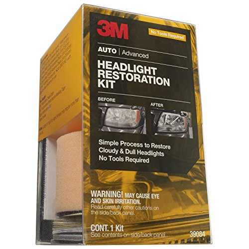 Headlight Lens Restoration Kit - 6