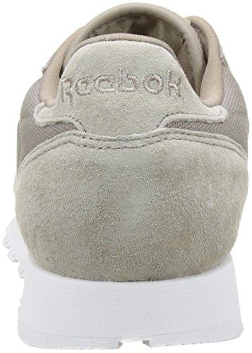 Reebok CL LEATHER CC Basket mode homme gris