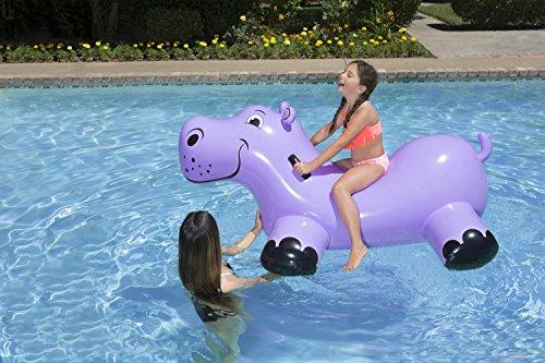 51R8jHTSCPL - Poolmaster Happy Hippo Swimming Pool Float Rider