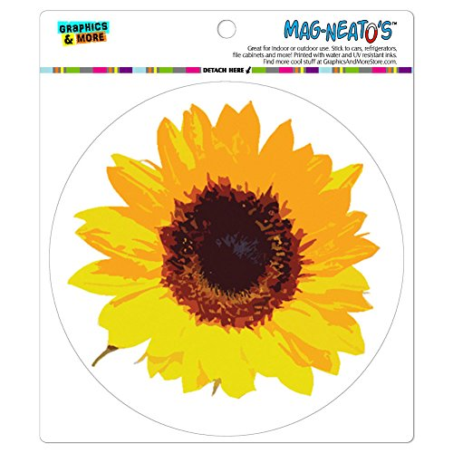 Sunflower Shower MAG NEATOS Automotive Refrigerator