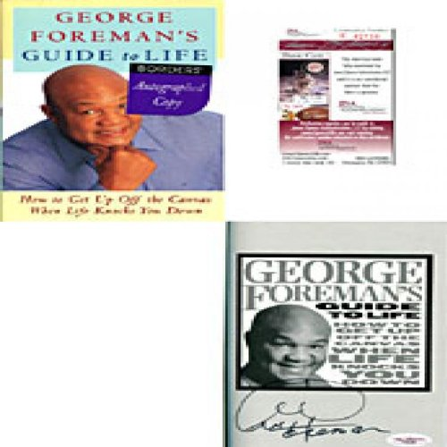 Guide George Foremans - George Foreman Autographed / Signed Guide To Life Book (James Spence)