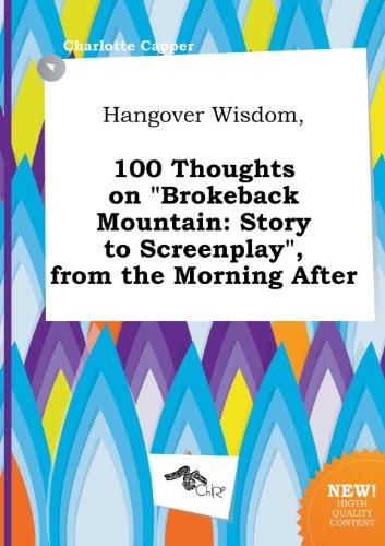 Brokeback Mountain [Pdf/ePub] eBook