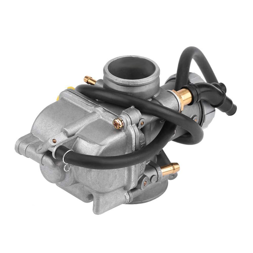 Kimiss Carburador de aluminio de 28 mm compatible con CR80 CR80RB 1996-2002 CR85 CR85R 2003