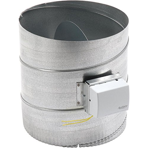 (12 Inch Round Automatic Ventilation Damper, Lot of 1)