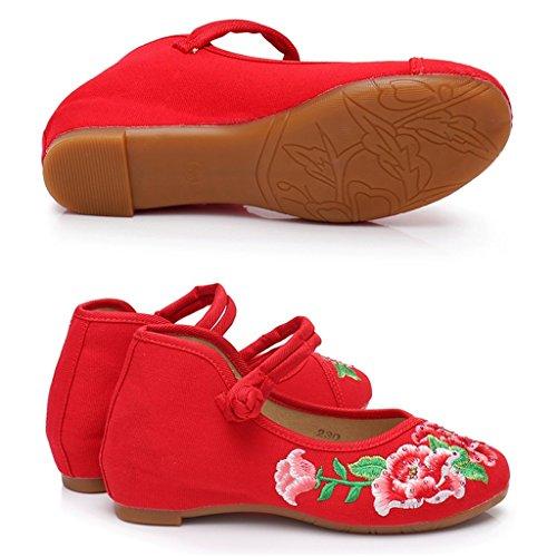 Zapatos bordados bordados Zapatos estilo 6I1gqC