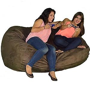 Cozy Sack 640-Cbb-Chocolate Maui Beanbag Chair, 6', Chocolate