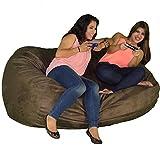 Cozy Sack 640-Cbb-Chocolate Maui Beanbag Chair, 6' , Chocolate