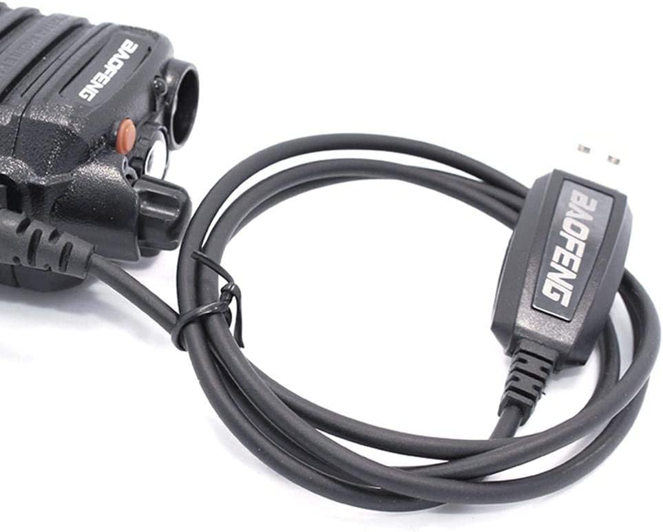 BF-UV9R Plus BF-A58 langlebiges Kabel f/ür BF-UV9R BF-9700 USB Programmierkabel Wasserdichtes iBoosila Rvest Interphone Schreibfrequenzleitung BF-N9 Funksprechger/ät BF-S58