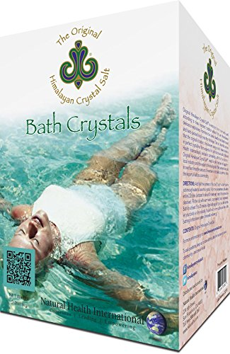 Original Himalayan Crystal Salt - Bath Salts for Hydration, Detox and Relaxation Bathing - 2.2lbs (1kg)