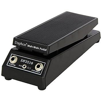 LYWS WAH-WAH - Pedal para guitarra eléctrica con sonido, color negro DF2210: Amazon.es: Instrumentos musicales