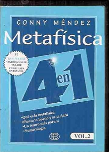 Metafisica 4 En 1 Vol 2 Conny Mendez 9788489897083 Books