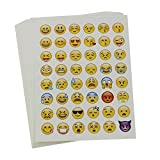 20 Sheets Die Cut Emoji Sticker for Phone Laptop Deco