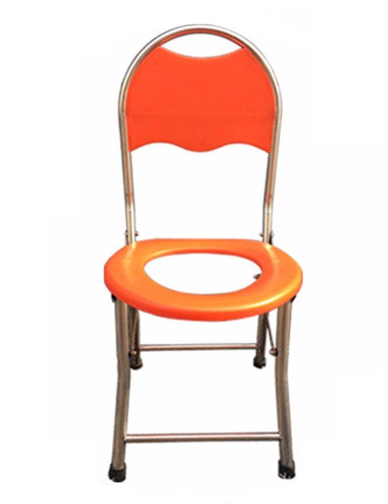 TH シャワーチェア 高齢者アンチスライドのスケルトン妊娠中の女性折りたたみ式ポータブルトイレスツールシンプルチェア 風呂椅子 B07BW9YLJP