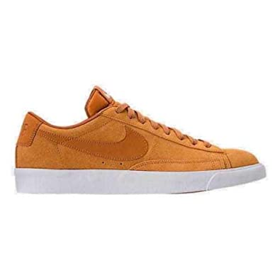 release date: 65a43 a6d9b Amazon.com   Nike Men s Blazer Low Suede Shoes (9.5 M US, Desert Ochre Desert  Ochre-SAIL)   Shoes