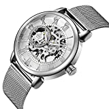 Sweetbless Wristwatch Men's Royal Classic Roman Index Hand-Wind Mechanical Watch