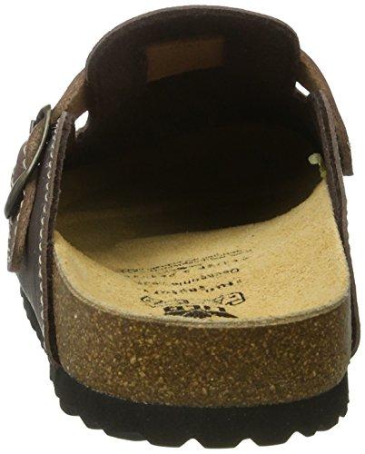 Lico Bioline Clog Style - pantuflas con forro Hombre marrón (Braun)