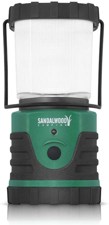 Sandalwood Ultra-Bright 300-Lumen LED Outdoor Camping Lantern Light Hiking Lamp