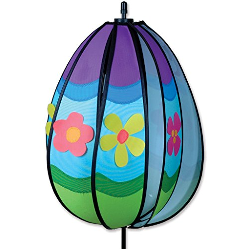 Premier 22345 Wind Garden Spinning Egg Wind Spinner, Easter (Windsock Halloween Costume)