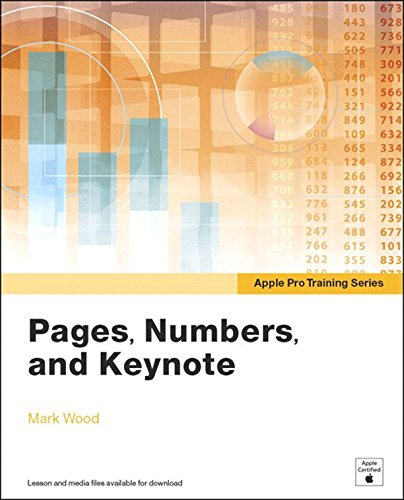Download Apple Pro Training Series: Pages, Numbers, and Keynote Pdf