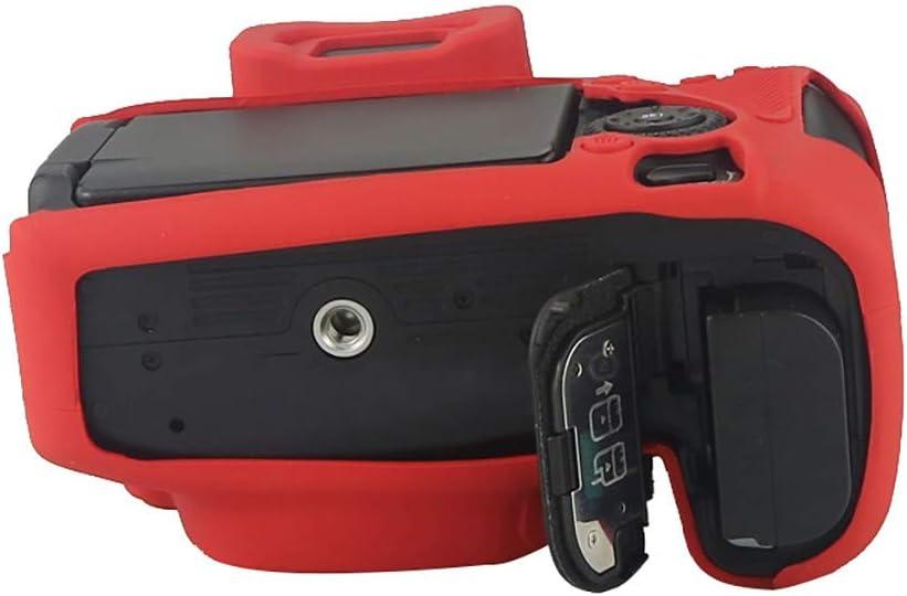 HSKB Silikon H/ülle Case Schutzh/ülle Wasserdicht f/ür Canon 80d Kamera Puffer Tasche Fall Protective Zubeh/ör Shell rutschfest