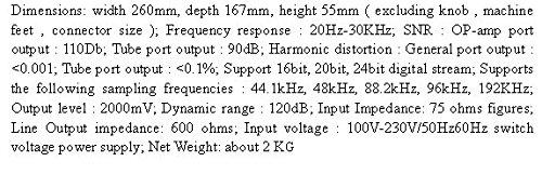 GOWE USB coaxial óptico DAC PCM1794 Decoder GE5670 Tubo salida digital analógico convertidor: Amazon.es: Bricolaje y herramientas