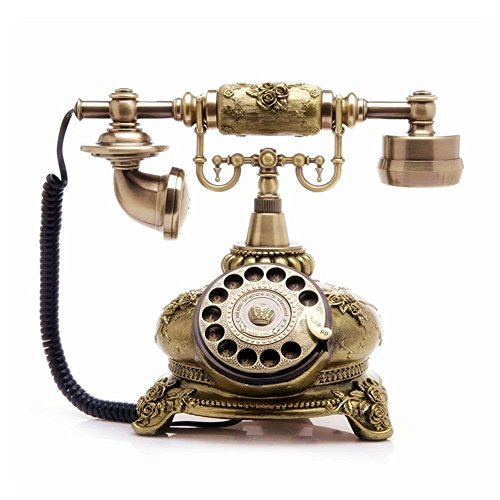 - TelPal Retro Vintage Antique Style Corded Rotary Dial Desk Telephone Phone Home Office Decor …