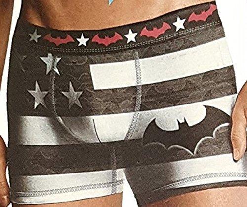 DC Comics Batman American Flag Boxer Briefs - X-Large