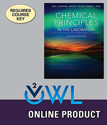 OWLv2 with LabSkills for Slowinski/Wolsey/Rossi's Chemical Principles in the Laboratory, 11th Edition
