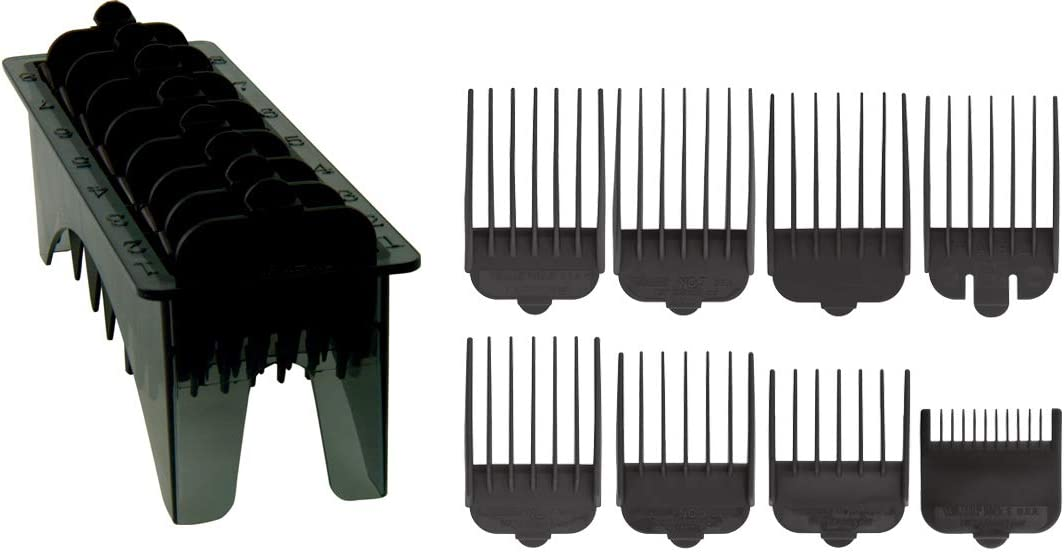 Wahl 3170-801 - Peines de reemplazo para tijeras Wahl Multi Cut Clipper, color negro