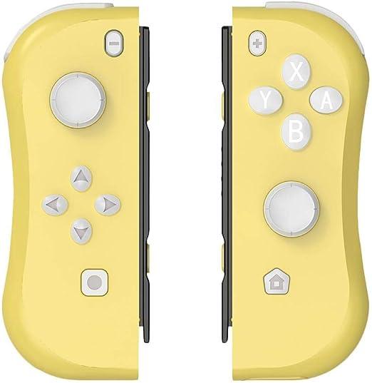 Sroomcla Mando Para Nintendo Switch Inalámbrico Joy-Con Controladores Inalámbricos LED Bluetooth Controladores Joystick Con Vibración Y Sensor | Constan De 22 Botones Y 2 Joystick 3D De Alta beautiful: Amazon.es: Hogar
