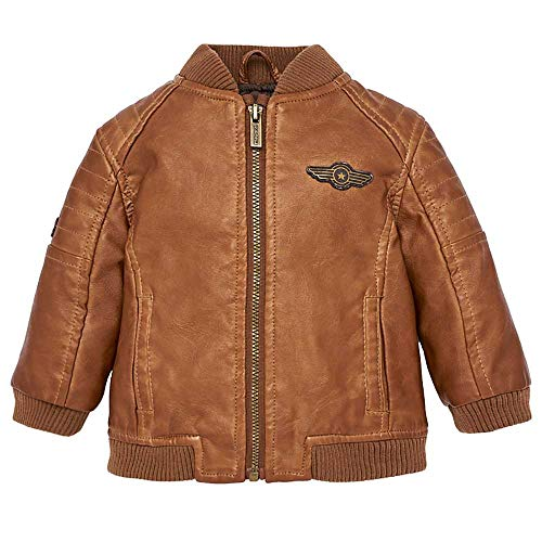 Mayoral Brown Faux Leather Bomber Jacket ()
