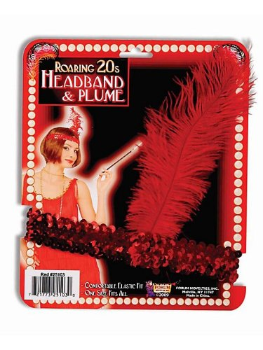Sale For Party Costumes (Red Sequin Flapper Costume)