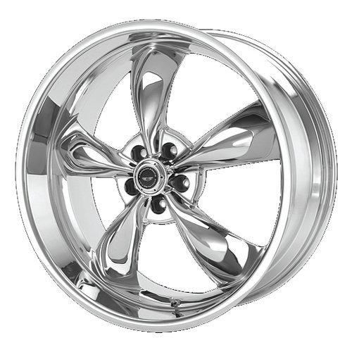 Cobra Chrome Wheel - American Racing Torq Thrust M Wheel with Chrome Finish (18x8