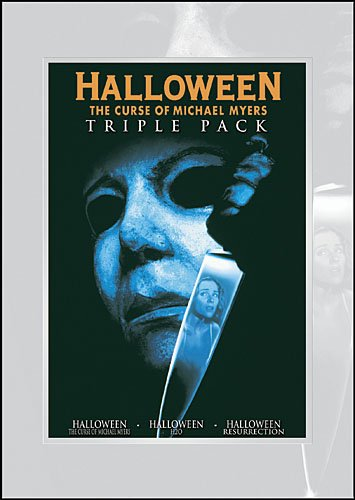 Halloween Triple Pack (Halloween - The Curse of Michael Myers | Halloween H20 | Halloween Resurrection) -