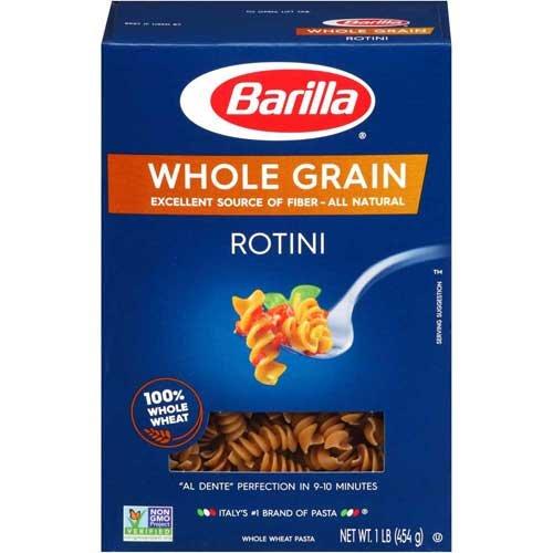 Barilla Whole Grain Rotini, 16 Ounce -- 8 per case. ()