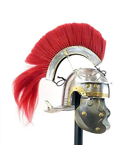 Medieval Roman Helmet Centurion Gallic Helmet Knight Spartan Armour Helmet