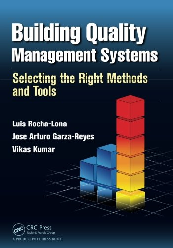 Building Quality Management Systems  Selecting The Right Methods And Tools