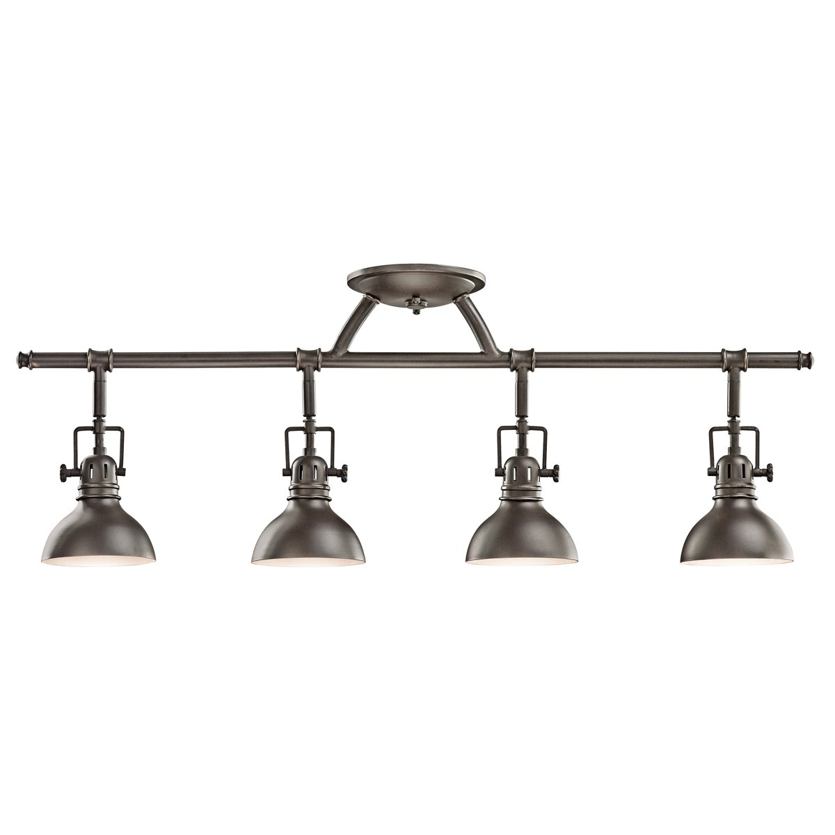 Kichler Lighting Kitchen Lighting Kichler Lighting 7050oz 3 Light Fixed Rail Directional Light Old