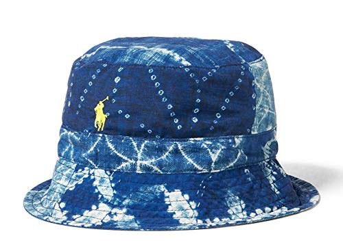 Polo Ralph Lauren Print Reversible Bucket Hat (S/M, Blue (1001) / Navy/Blue)