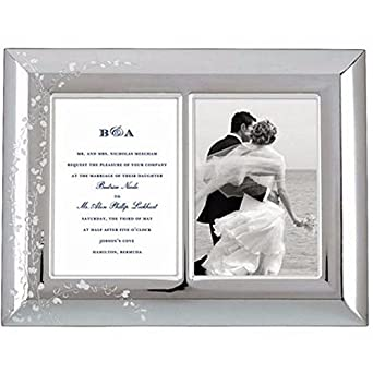 amazoncom kate spade new york gardner street double invitation frame wedding albums