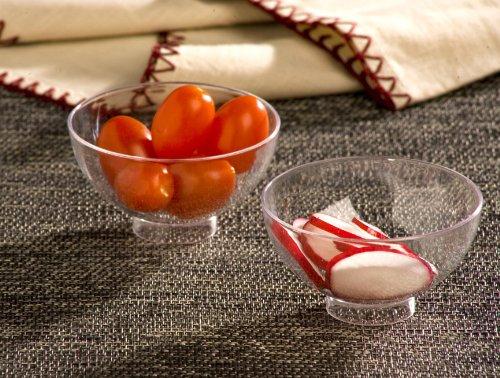 EMI Yoshi Koyal Petite Bowls, Clear, Set of 200