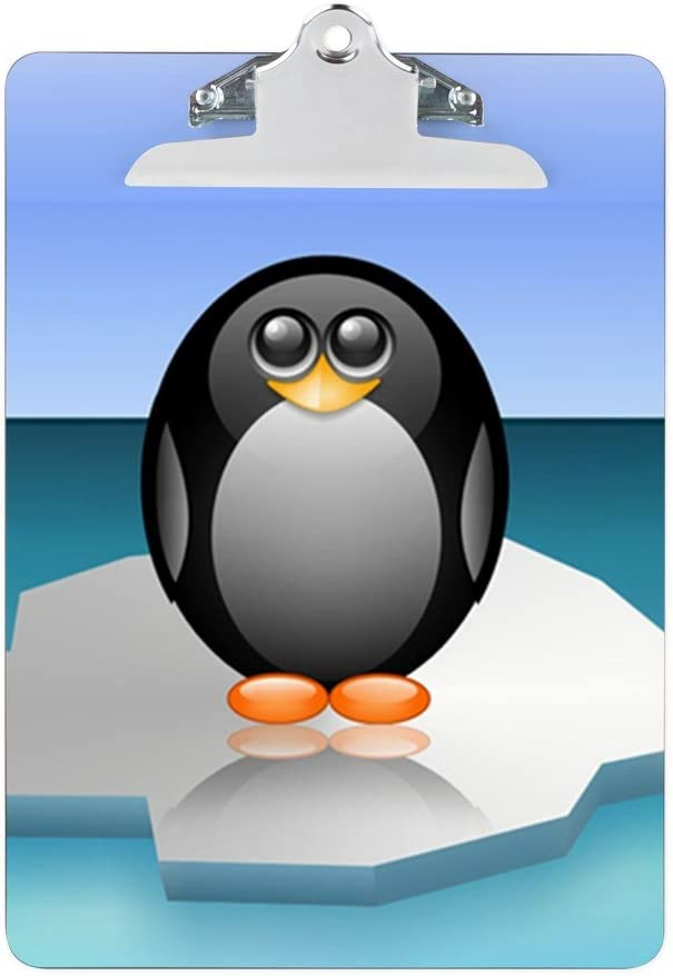 Amazon Com Clipboard Cute Baby Penguin Office Products